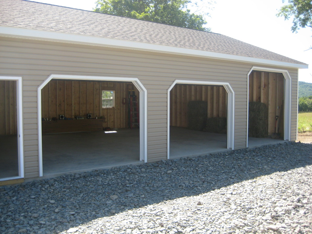 All in one builders west michigan pole barns garages for Pole barn garage designs
